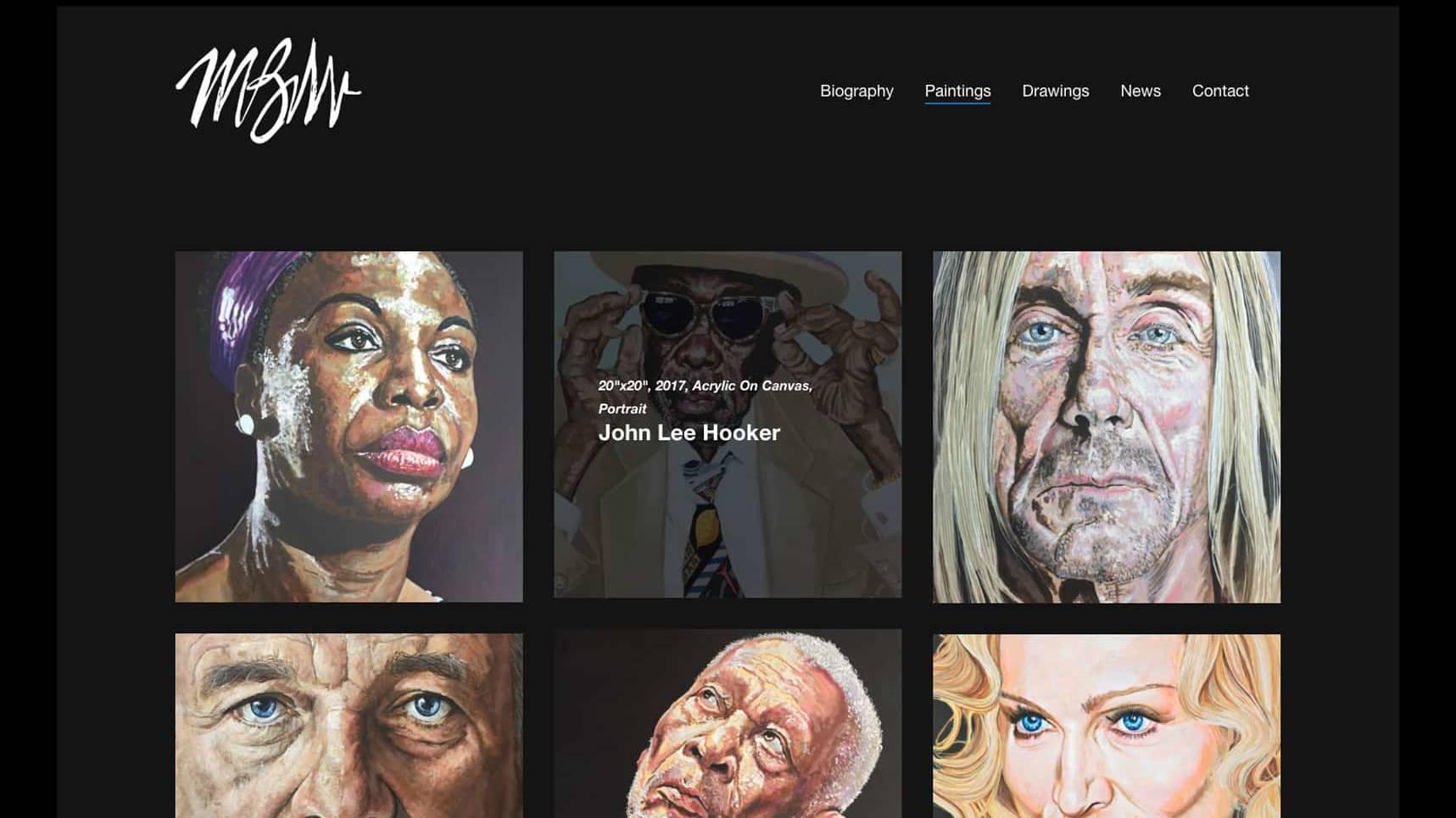 Michael Wagner Fine Arts Website